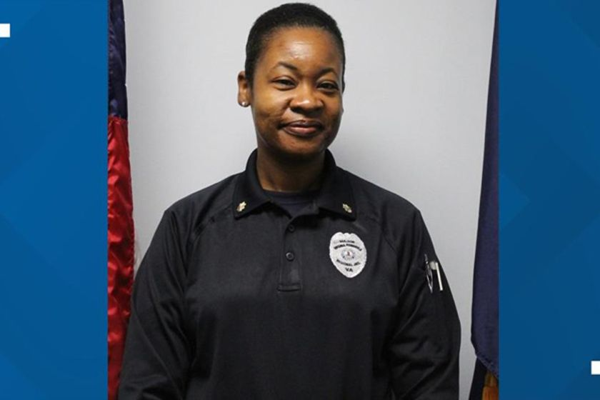 Major Angelanette Mooresuffered a fatal heart attack following a shakedown in one of the...
