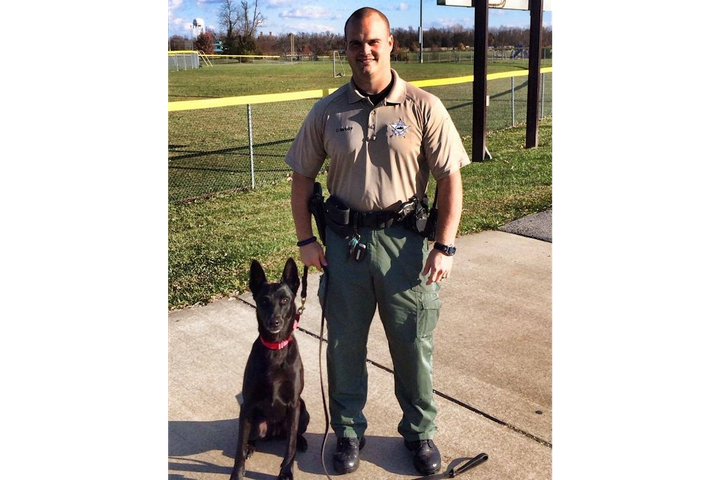 Boyle County (KY) Sheriff's Office K-9 Nikki was killed in a traffic collision Tuesday. (Photo: Boyle County SO/Facebook) -