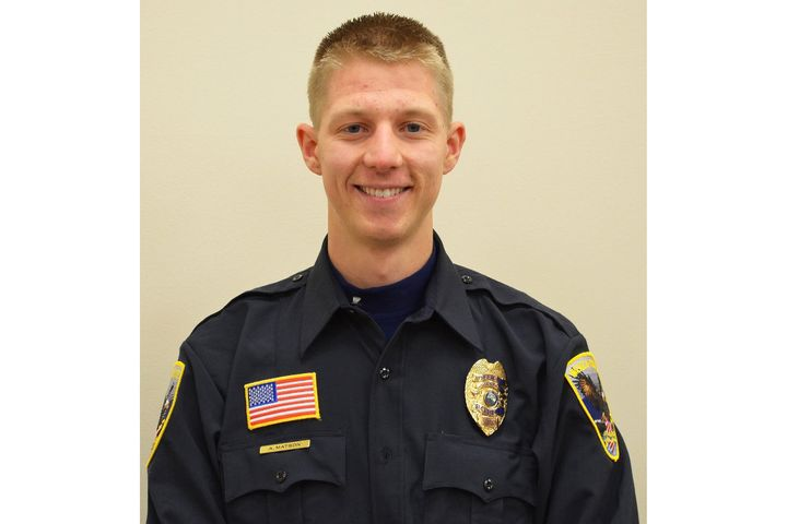 Waseca, MN, police officer, Arik Matson was critically wounded Monday night. (Photo: Waseca PD) -