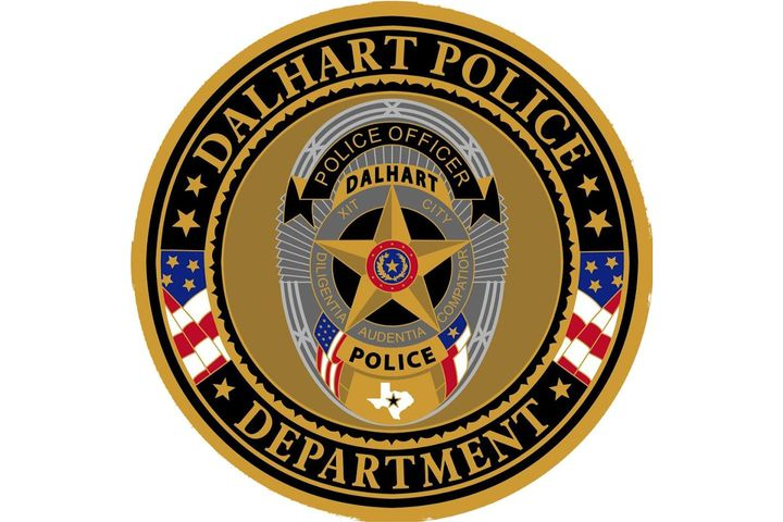 The Dalhart (TX) Police Department closed its headquarters until officers recover from a major flu outbreak. - Photo: Dalhart (TX) Police Department