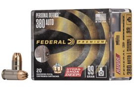 SHOT Show 2020: Federal Introduces Hydra-Shok Deep in 380 Auto