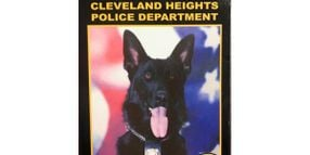 Ohio Department Mourns Sudden Death of K-9