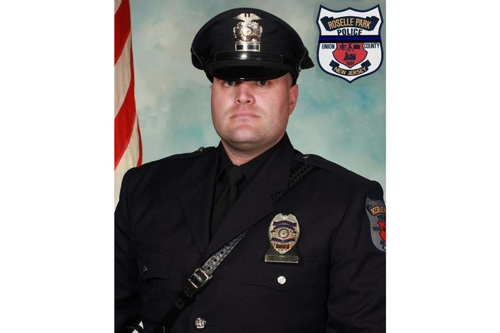 Patrolman Edward Nortrup was 39. - Photo: Roselle Park (NJ) Police Department