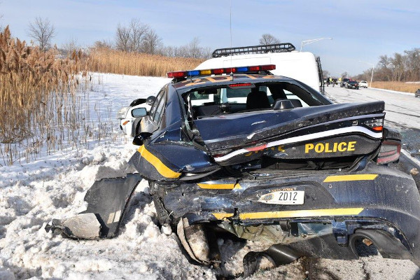 New York Trooper Injured While Investigating Crash