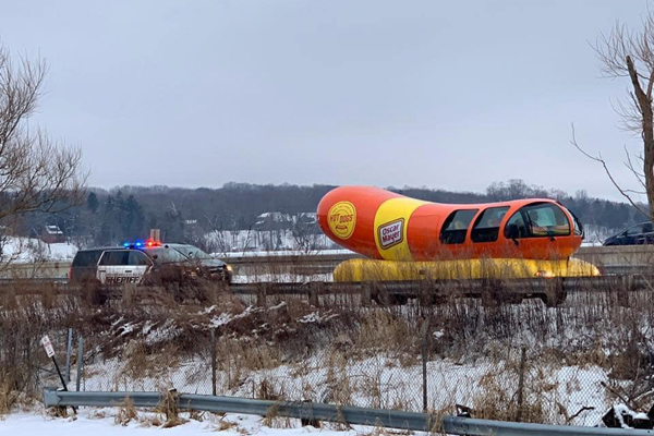 Wisconsin Deputy Issues Warning to Driver of Oscar Mayer