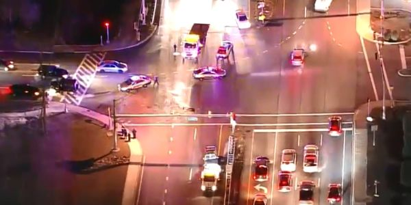 Maryland Officer Struck by Vehicle While Directing Traffic at Crash Scene