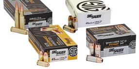 Homeland Security Awards FLETC Ammunition Contract to SIG Sauer