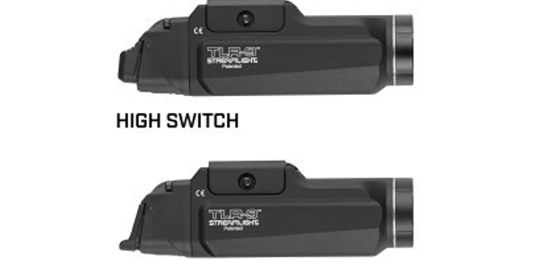 Streamlight's new TLR-9 weapon lights let the user set the position of the activation switch....