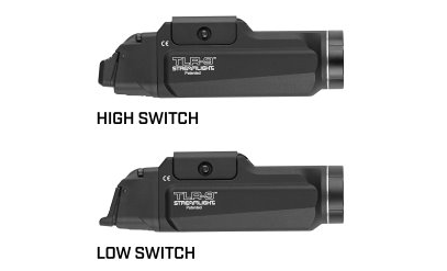 Streamlight's new TLR-9 weapon lights let the user set the position of the activation switch. (Photo: Streamlight) -