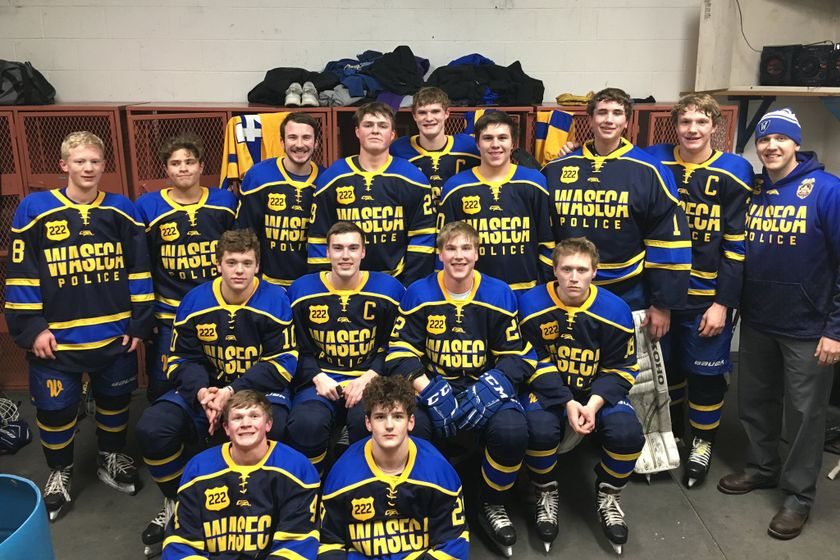 A high school hockey team in Minnesota that had hoped to honor an officer with the Waseca Police...