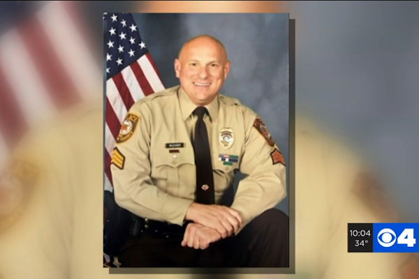 The county agreed to pay Lt. Keith Wildhaber $7 million within 60 days, and another $3.25 million by Jan. 31, 2021. - Image: KMOV video screenshot