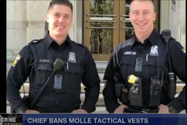 Ohio Chief Bans Load-Bearing Vests for Officers