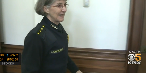 A civilian police commission has fired Chief Anne Kirkpatrick from the Oakland (CA) Police...