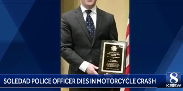 Officer Kevin McArthur died in a motorcycle crash.
