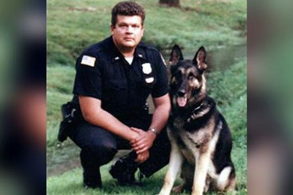Officer Kenneth Reid Lester has died from injuries sustained in a vehicle collision in February 1995. - Image courtesy ofRichmond (IN) Police Department / Facebook.