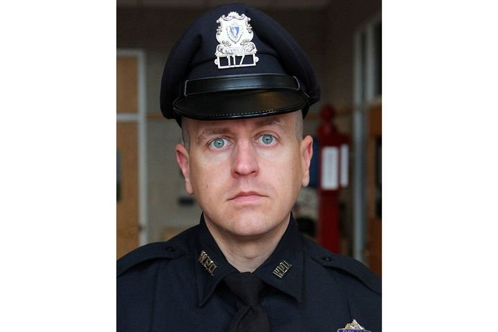 Sergeant Michael Chesna was shot and killed with his own service weapon. - Photo: Weymouth (MA) Police Department