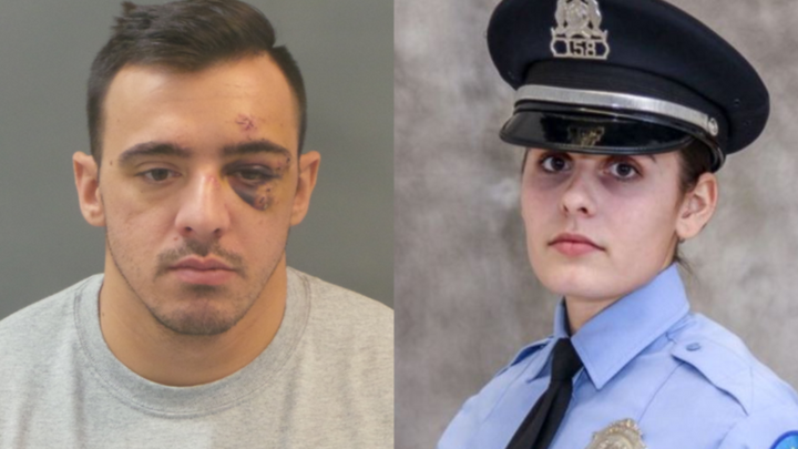 Former St. Louis police officer Nathaniel Hendren pleaded guilty Friday to one count of involuntary manslaughter and one count of armed criminal action for the shooting death of Officer Katlyn Alix, 24. (Photo: St. Louis PD) -