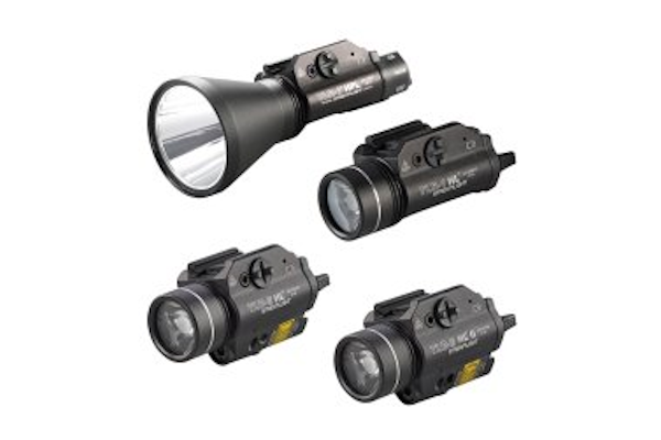 Streamlight has improved the output of four of its TLR high lumen (HL) gun-mounted lights. - Photo: Streamlight