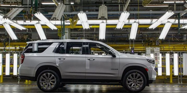 GM's Arlington, Texas, plant produces the Chevrolet Tahoe PPV and the consumer Tahoe. (Photo:...
