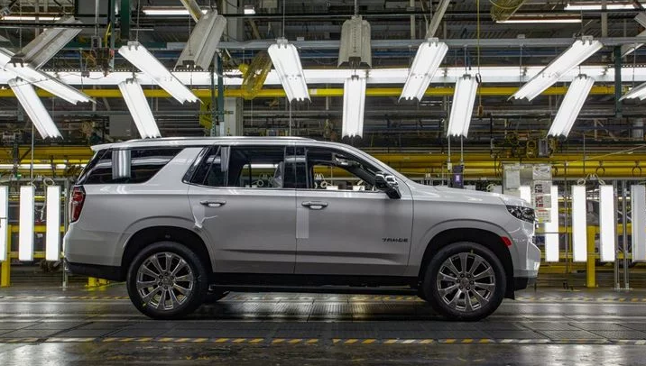 GM's Arlington, Texas, plant produces the Chevrolet Tahoe PPV and the consumer Tahoe. (Photo: General Motors) -