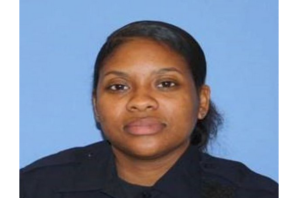 Officer Quiana Campbell was arrested last month on charges of lying to federal agents and filing false income tax returns - Photo: Cincinnati (OH) PD