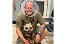 Florida Deputy, K-9 Stabbed During Home Invasion Arrest