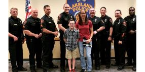 5.11 Recognizes 11-Year-Old Running 4 Heroes Founder as Everyday Hero
