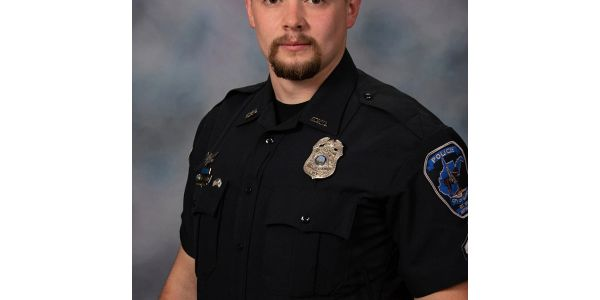 Senior Patrolman Daniel Sayre, 25, was shot and wounded while effecting an arrest.