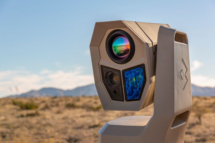 The FLIR Ranger HDC MR is a new AI-ready high-definition thermal imaging midrange surveillance system. - Photo: FLIR