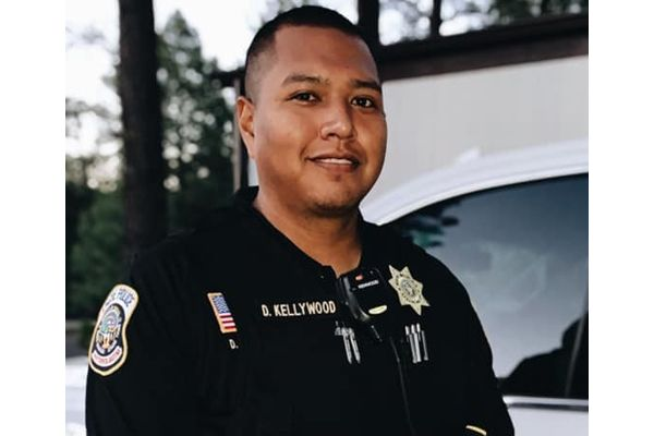 Thousands of people were in attendance during the funeral service of White Mountain Apache Nation Police Officer David Kellywood over the weekend. - Image courtesy of White Mountain Apache Nation Police Department / Facebook.