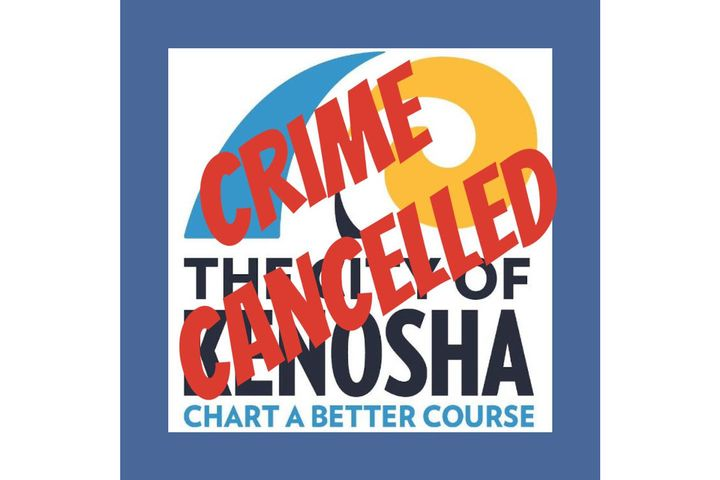 "The Kenosha (WI) Police Department jokingly posted about their decision to ""cancel all crime"" in the area. - Photo: Kenosha (WI) PD / Facebook"