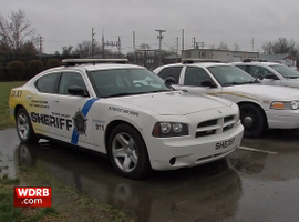 Deputies from the Nelson County (KY) Sheriff's Office are enforcing a quarantine ordered by the governor and a local judge. (Photo: WDRB Screen Shot)