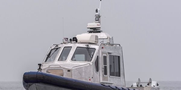 Lake Assault Boats has delivered this 35-foot patrol vessel to the U.S. Army's Military Ocean...