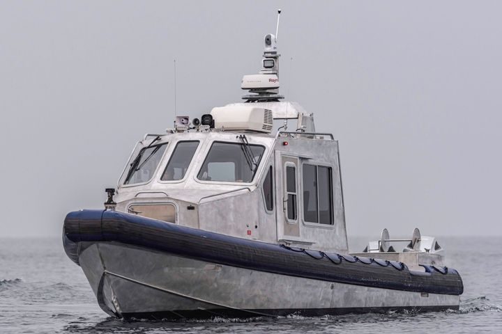 Lake Assault Boats has delivered this 35-foot patrol vessel to the U.S. Army's Military Ocean Terminal Sunny Point. - Photo: Lake Assault Boats