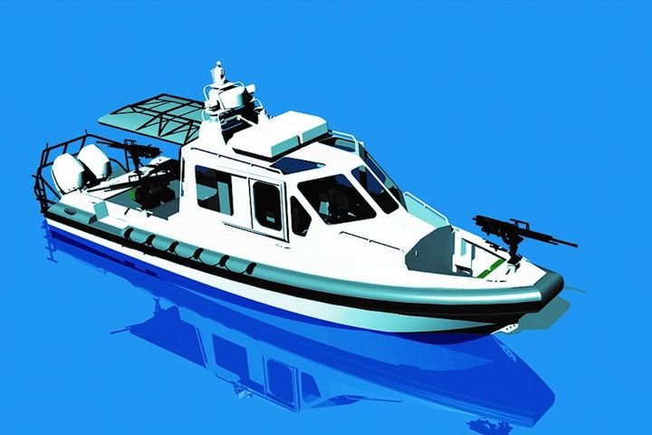 Lake Assault Boats has been chosen to produce up to 119 Force Protection-Medium (FP-M) patrol boats by the U.S. Navy. - Image: Lake Assault Boats