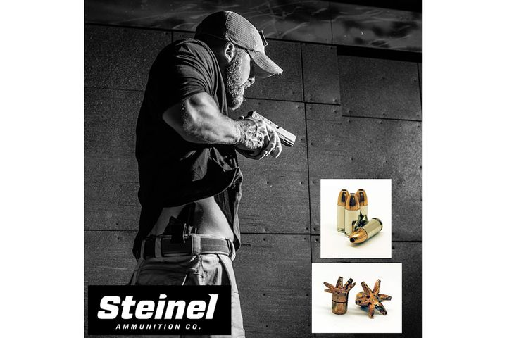 Steinel Ammunition's new 9mm 124 gr. Subcompact Carry SCHP round - Photo: Steinel Ammunition Co.