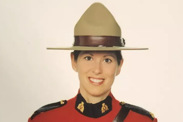 Royal Canadian Mounted Police Constable Heidi Stevenson was killed during a rampage in Nova Scotia this weekend. At least 18 people were killed in the attack. (Photo: RCMP) -