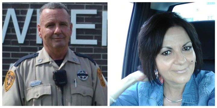 Lawrence County, MS, Sheriff's Deputy Robert Ainsworth and his wife Paula were killed in their home Sunday by a storm. (Photo: Lawrence County SO/Facebook) -
