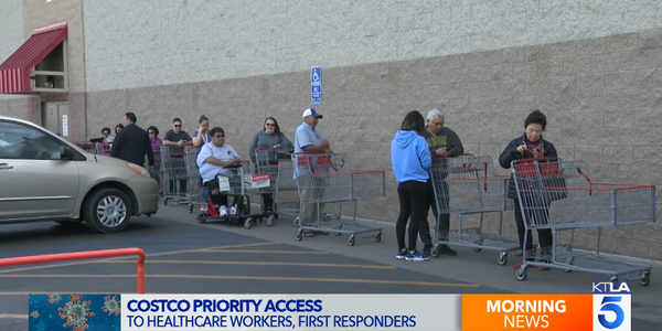 Costco is offering first responders and healthcare workers priority access to the stores....