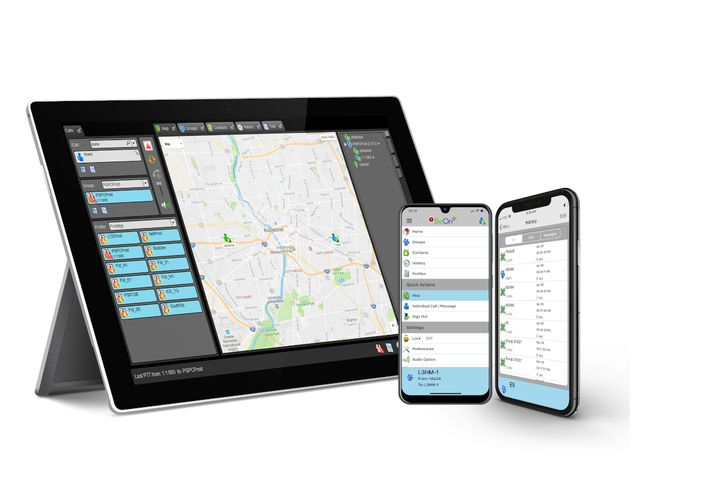 L3Harris Technologies is offering its BeOn software application for free to public safety workers. - Photo: L3 Harris