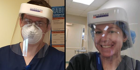 Hardwire Manufactures Face Shields to Protect Medical Personnel Combating COVID-19