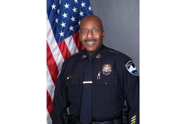 Savannah (GA) Police Chief Roy Minter faces HR complaints from 77 officers. (Photo: Savannah PD) -