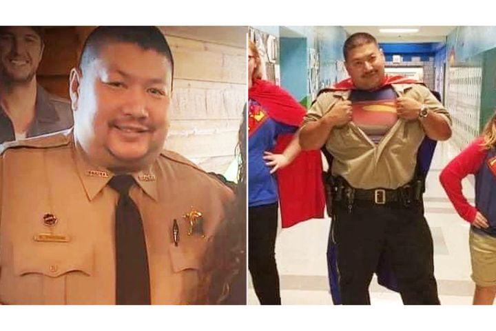 "Deputy and SRO Sypraseuth ""Bud"" Phouangphrachanh of the Montgomery County (NC) Sheriff's Office died Tuesday night of COVID-19. - Photo: Montgomery County (NC) Sheriff's Office"
