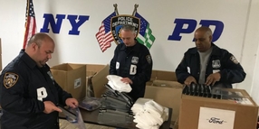 Ford Makes 7,500 Coronavirus Face Shields for NYPD