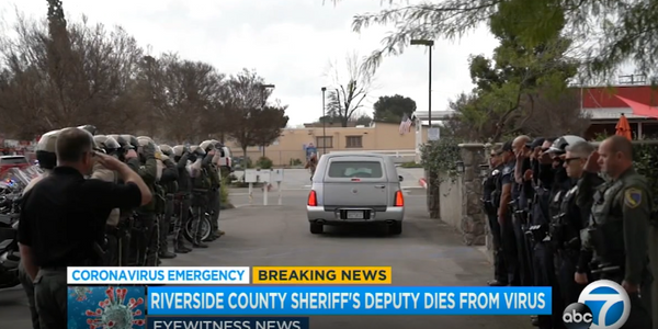 California Deputy Dies of Coronavirus