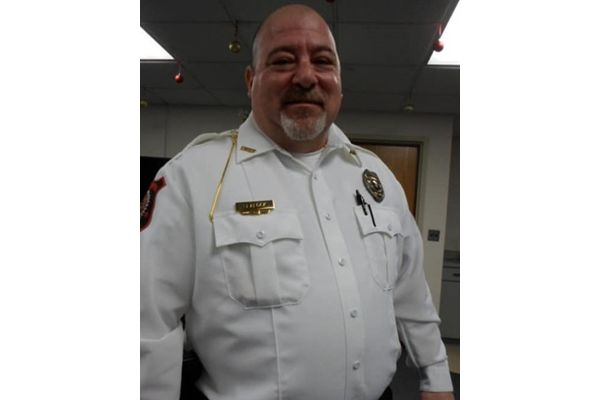 Chief of Police Robert Sealock had joined other officers who were involved in a foot pursuit of a wanted subject.Shortly after arriving back to the police station, he suffered a severe asthma attack and was transported to a nearby hospital for treatment. - Image courtesy ofAliquippa City (PA) Police Department.