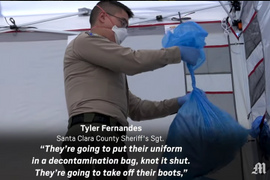 California Agency Builds Coronavirus Decontamination Center