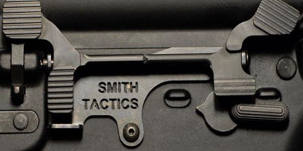 Smith Tactics Battle-Bar extended bolt catch release
