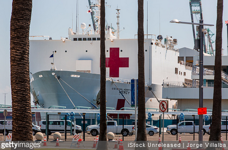 California Engineer Accused of Derailing Train to Damage Navy Hospital Ship Over Coronavirus