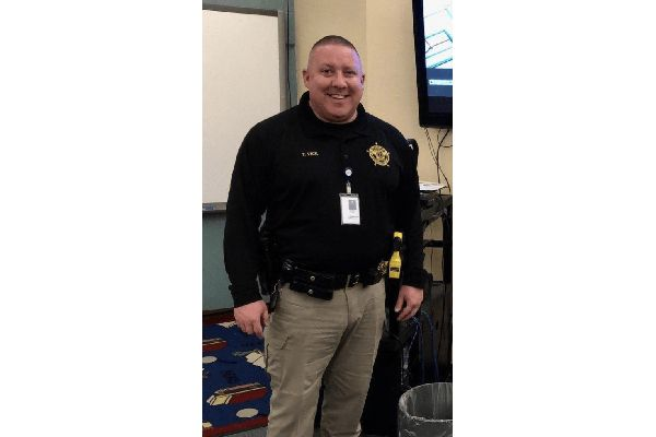 Hopkins County Deputy Terry Vick was killed in a patrol vehicle crash Wednesday morning. - Image courtesy of Hopkins County Sheriff's Department.